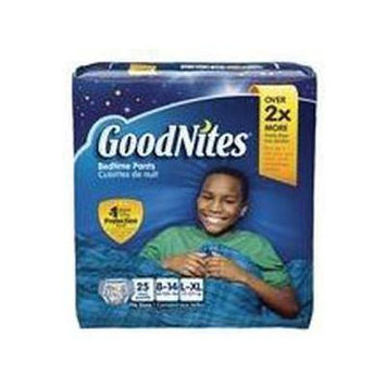 Goodnites Youth Pants for Boys Big Pack Large/X-Large - 25 Count - 8 Pack