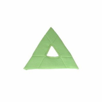 Unger Stingray Glass Cleaning Pad, Triangle, Green, 5/Pack, 1 Pack