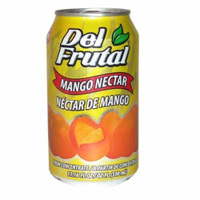 Del Frutal Mango Nectar 11.16 oz - Sabor Mango (Pack of 6)