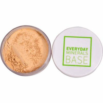 Everyday Minerals BASE 3W Semi Matte Golden Beige -- 0.17 oz (pack of 4)