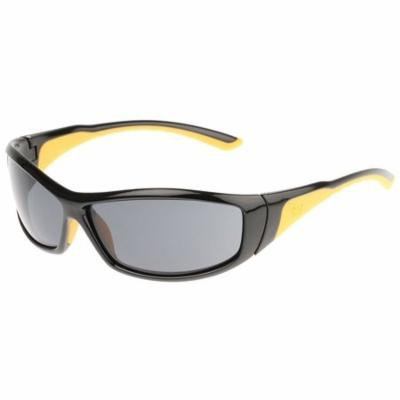 CAT Grit Safety Glasses with Black Frame and Smoke Lens