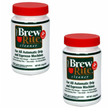2 Brew Rite Cleaner for Automatic Drip Coffee and Espresso Machines