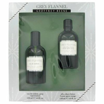 Geoffrey Beene Gift Set -- 4 oz Eau De Toilette Spray + 4 oz After Shave