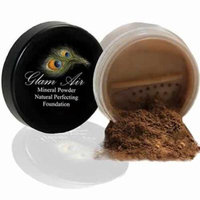 Glam Air Mineral Foundation, Natural Perfection Powder Foundation Compare with Bare Minerals and MAC Mineralize (BRONZER)