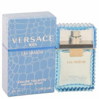 Versace Eau Fraiche Eau De Toilette Spray (Blue) 1 oz