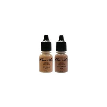 Glam Air Airbrush Water-based Foundation in Set of Two (2) Matte Shades M13 - M14