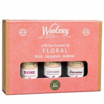 Gift set of 3 oils Floral Lavender Rose & Jasmine 10ml each