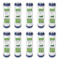 10 Pack Express Water 5 Micron GAC Granular Activated Carbon Water Filter 10