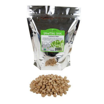 Dried Garbanzo Beans- Organic Sprouting Seeds - 2.5 Lbs - Handy Pantry Brand - Dry Garbonzo Bean / Seeds - For Planting, Gardening, Hummus, Cooking, Food Storage, Sprouts
