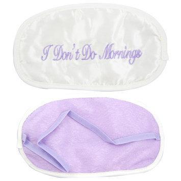 Atb Sleep Silk Mask Eye Blind Fold Cover I Dont Do Morning Travel Eyeshade Rest Gift