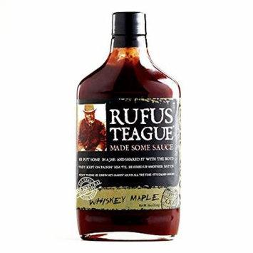Rufus Teague Whiskey Maple BBQ Sauce 16 oz each (3 Items Per Order)