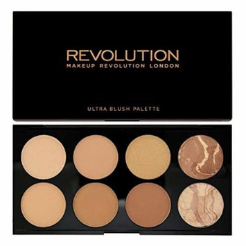 Makeup Revolution All About Bronze. 8 Bronzing Powders Contouring Palette by Makeup Revolution