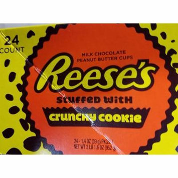Reese's Stuffed With Crunchy Cookie, 1.4 oz., 24 Count