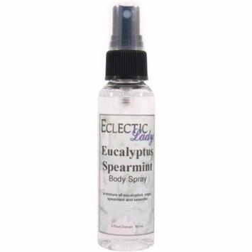Eucalyptus Spearmint Body Spray, 4 ounces