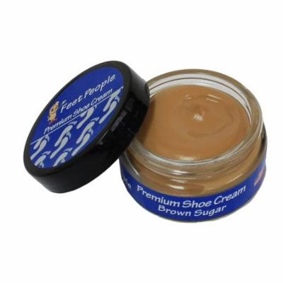 FeetPeople Premium Shoe Cream 1.5 Oz, Brown Sugar