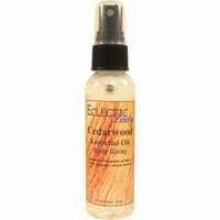 Cedarwood Essential Oil Body Spray, 4 ounces