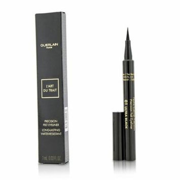 Precision Felt Eyeliner - # 01 Ultra Black-1ml/0.03oz