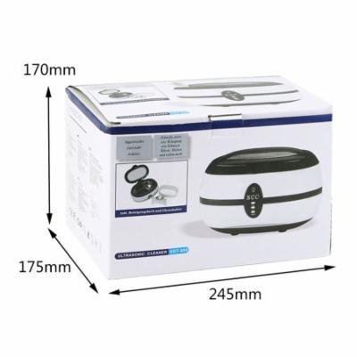 600ml Ultrasonic Cleaner Cleaning Machine For Jewelry Watches US Plug Home Use