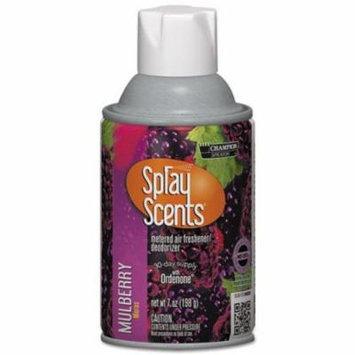 CHA5169 - Sprayscents Metered Air Freshener Refill, Mulberry, 7oz, Aerosol