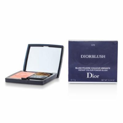 Christian Dior - DiorBlush Vibrant Colour Powder Blush - # 676 Coral Cruise -7g/0.24oz