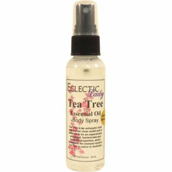 Tea Tree Essential Oil Body Spray (Double Strength), 2 ounces