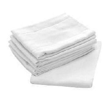 Central Better Wear Birdseyes Flat Cotton Cloth Diapers Cotton (Pack of 18)