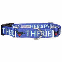 Country Brook Petz™ Blue Therapy Dog Martingale with Deluxe Buckle