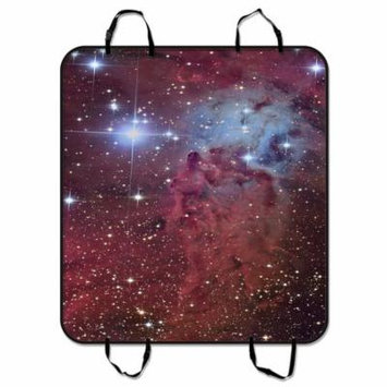 ZKGK Galaxy Space Universe Dog Car Seat Cover Dog Car Seat Cushion Waterproof Hammock Seat Protector Cargo Mat for Cars SUVs and Trucks 54x60 inches
