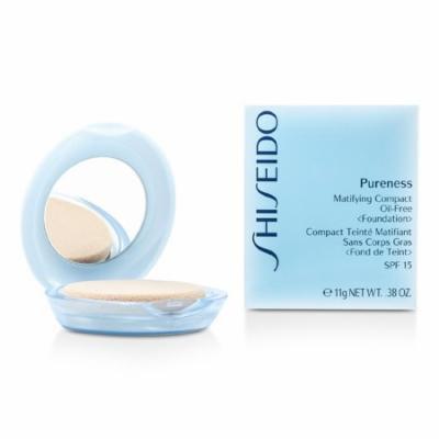 Shiseido - Pureness Matifying Compact Oil Free Foundation SPF15 (Case + Refill) - # 10 Light Ivory -11g/0.38oz