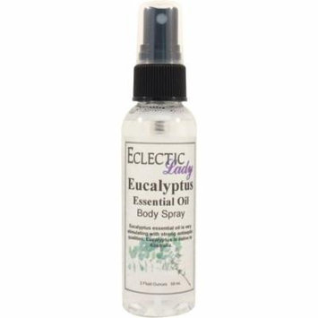 Eucalyptus Essential Oil Body Spray, 2 ounces