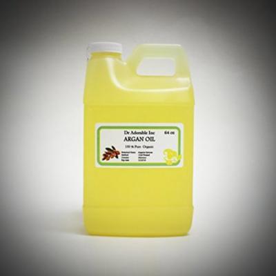 Dr. Adorable - 100% Pure Argan Oil Organic Cold Pressed Natural Hair Skin- 64 oz