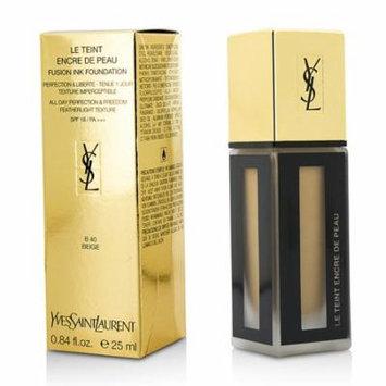 Yves Saint Laurent - Le Teint Encre De Peau Fusion Ink Foundation SPF18 - # B40 Beige -25ml/0.84oz