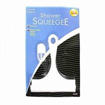 Shower Squeegee With Hanging Hook - Set of 48, [Household Supplies, Window Squeegees]