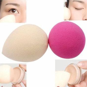 2 pcs Waterdrop Shape Makeup Sponge Blender Foundation Flawless Puff