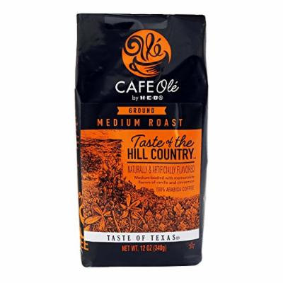 H-E-B Cafe Ole Taste Of The Hill Country Ground Coffee (Pack of 2) (Vanilla Cinnamon)12 oz (24 oz Total)