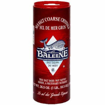 La Baleine Sea Salt, Coarse, 26.5 Ounce (Pack of 12)