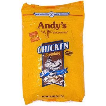 Andy's Seasoning Chicken Breading - Mild - 5 Lbs