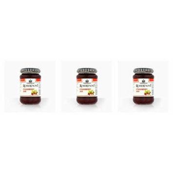 Bundle of 3 Robertson's Strawberry Jam 340g x 3 Jars Expires Feb 2019 ships 2-4 Days USA.