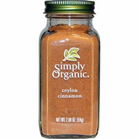 Simply Organic, Organic Ceylon Cinnamon, 2.08 oz(Pack of 3)