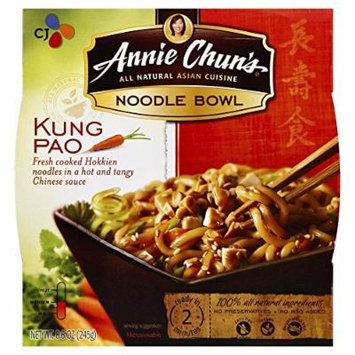 Annie Chuns Noodle Bowl Kung Pao 8.5 OZ(Pack of 6)