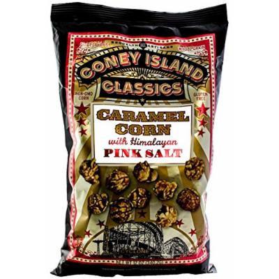 Coney Island Classics Popcorn, Caramel Corn With Himalayan Pink Salt, 12 Ounce Bags (6 Pack)