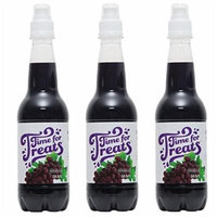 Pack of 3 Victorio Time for Treats Snow Cone Syrups 16.9oz Made in USA (Grape)