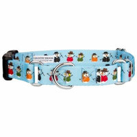 Country Brook Petz™ Caroling Snowmen Martingale With Deluxe Buckle
