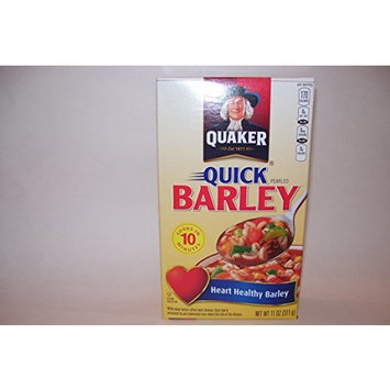 Quaker Quick Heart Healthy Barley, 11 oz (Pack of 2)