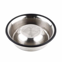 All Size Stainless Steel No tip No Slip Dog Puppy Pet Food or Water Bowl Dish