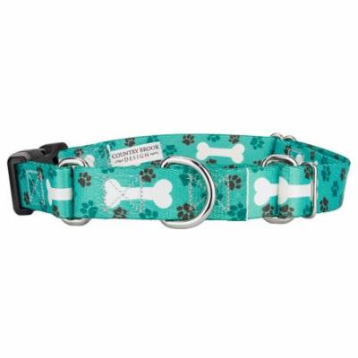 Country Brook Petz™ Oh My Dog Martingale with Deluxe Buckle
