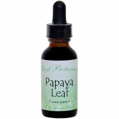 Best Botanicals Papaya Leaf Extract 1 oz.