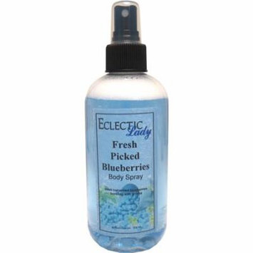 Fresh Picked Blueberries Body Spray (Double Strength), 16 ounces