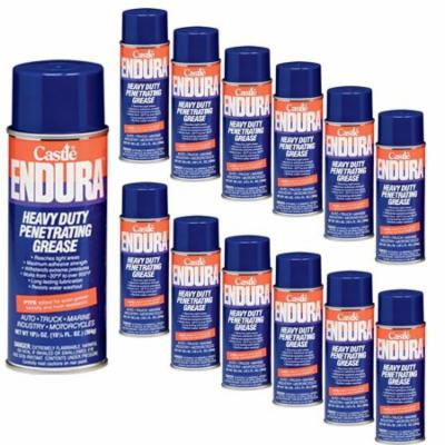 Castle C1630 Endura Heavy Duty Penetrating Grease, 10.75 oz, 12-Pack