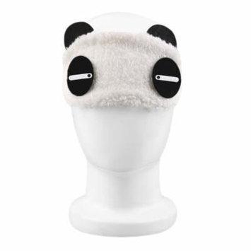 2017 New Cute Design Plush Panda Face Eye Travel Sleeping Soft Eye Mask Blindfold Shade Portable Sleeping Eye Cover,Askant
